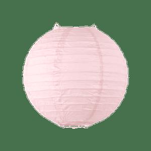 Boule papier 20cm Rose pâle