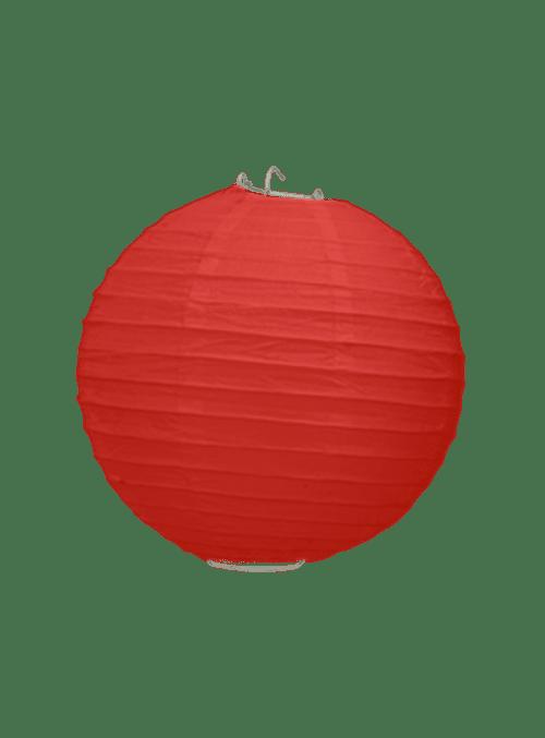 Boule Papier Rouge 20 cm x10