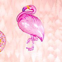 Ballon Flamingo Rose 121 cm