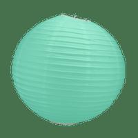 Boule Papier Vert Eau 30 cm x10