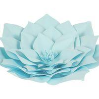 Fleur En Papier Gardénia Turquoise 30 cm