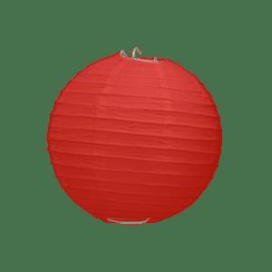 Boule Papier Rouge 10 cm x10