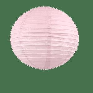Boule papier 40cm Rose Pastel