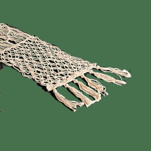 Chemin De Table Macramé Ivoire 3 m