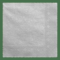Serviette Papier Argent x20