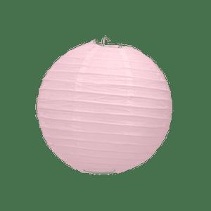 Boule Papier Rose Pale 10 cm x3