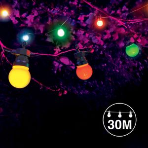 Kit Guirlande Guinguette 30m Multicolore