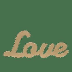 Lettres LOVE en Bois