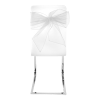 Noeud De Chaise Blanc x4