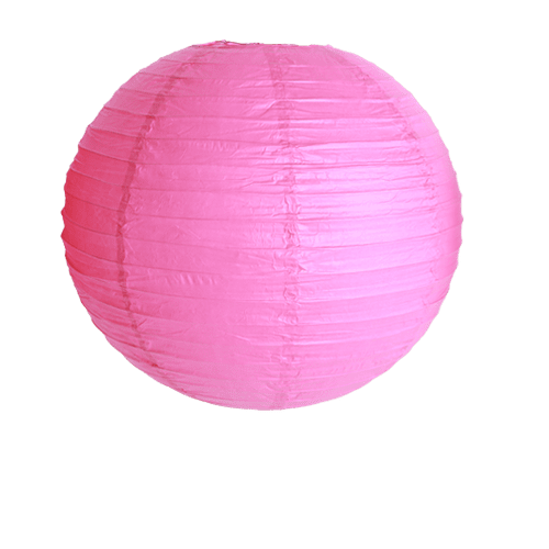 Décoration De Mariage & Fête Boule Papier 40Cm Fuchsia (Lot De 3 Pièces)
