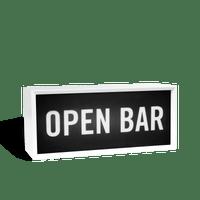 Lightbox Open Bar