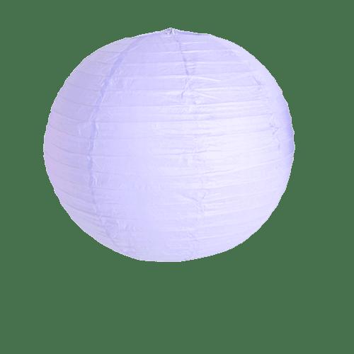 Deco Pour Mariage, Fête, Anniversaire Boule Papier 40Cm Parme (Lot De 3 Pièces)