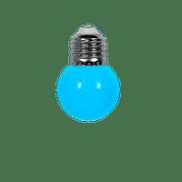 Ampoule Guirlande Guinguette Led E27 Couleur Bleu