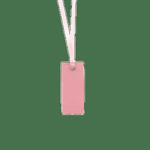 Marque-place + Ruban Rose Pâle x12
