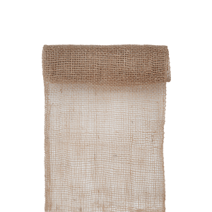 Chemin de Table Toile de Jute Naturel 5 M