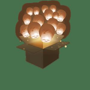 Balloon Chocolat x50