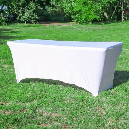 Nappe Extensible pour Table 180x74 Blanc
