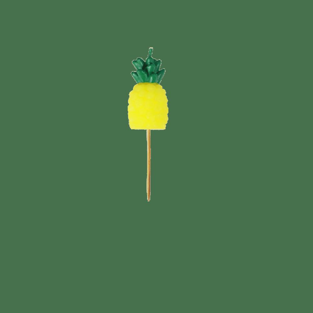 Bougies Ananas x5