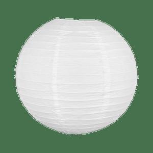 Boule papier 40cm Blanc