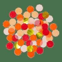 Confettis Deluxe Rouge