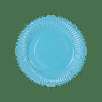 Assiette Carton Aqua Marine x6