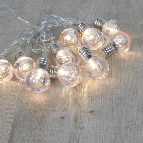 Guirlande Lumineuse 10 Mini-Ampoules Transparentes