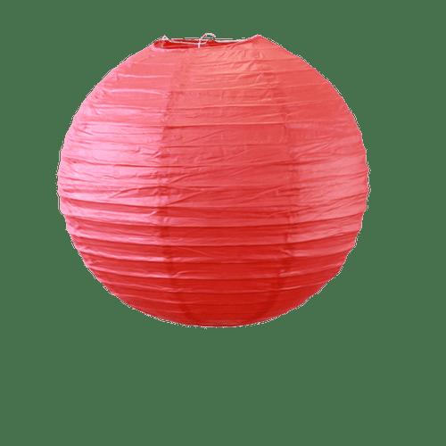Deco Soirée Mariage & Fête, Anniversaire, Fête Boule Papier 30Cm Rouge (Lot De 5 Pièces)
