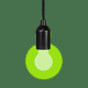 Suspension Ampoule Clic Clac Vert