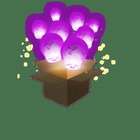 Balloon Parme x3