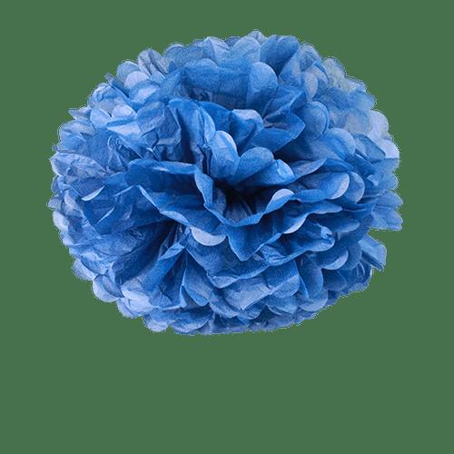 Pompons Bleu Navy 50cm x2