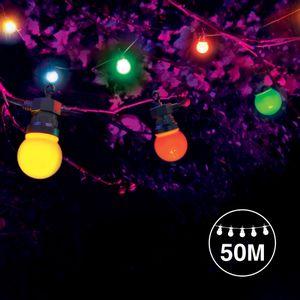 Kit Guirlande Guinguette 50m Multicolore