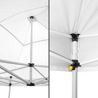 Tonnelle Pliante 3x3m imperméable 320g/m2 Blanche