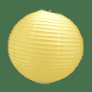 Boule Papier Jaune Pale 30 cm x3