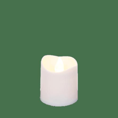 Bougie Led votive Ivoire 4 cm