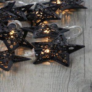 Guirlande Lumineuse Etoiles Noires