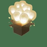 Balloon Blanc x30