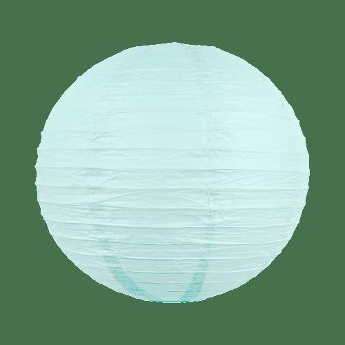 Boule papier 40cm Aqua Marine
