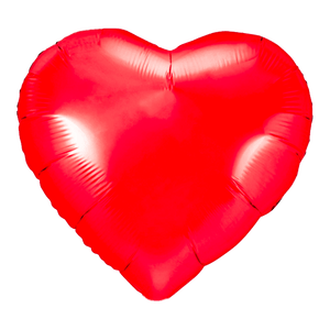 Ballon Coeur Rouge 61 cm