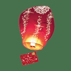 Lettre au Père Noël Volante® (Version Anglaise)