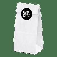 Sachet Papier Blanc x6 + étiquettes variées