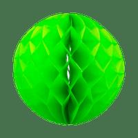 Boule chinoise alvéolée 40 cm Vert