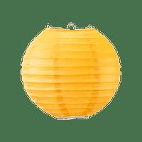 Boule papier 20cm Orange