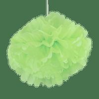 Pompons Jade 50cm x2
