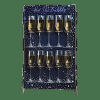 Porte Coupe Carton Etoiles Bleu 10 coupes