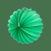 Lampion rond 20 cm Vert d'eau