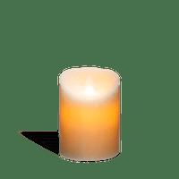 Bougie Led Flamme Vacillante Blanc 14,5 cm