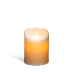 Bougie Led Flamme Vacillante Blanc 14,5 cm