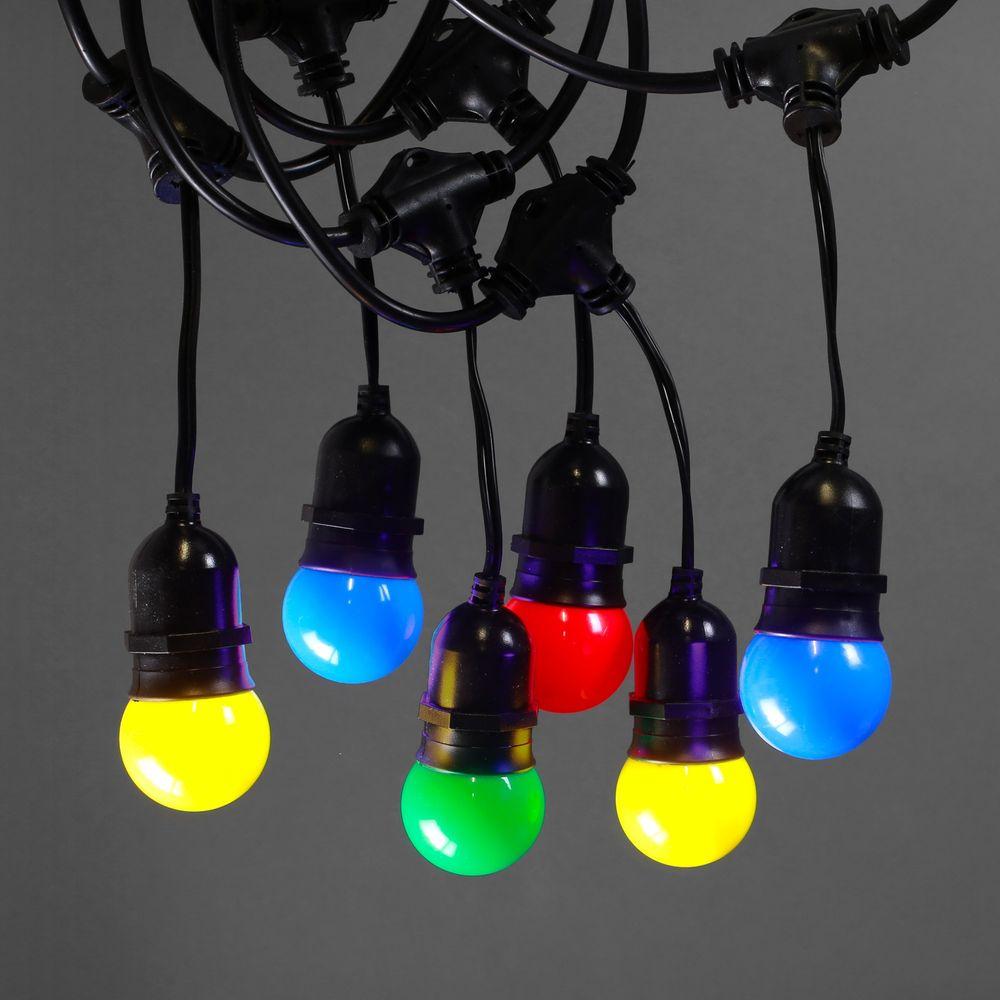 Guirlande Guinguette Pendante 10M pour ampoules E27