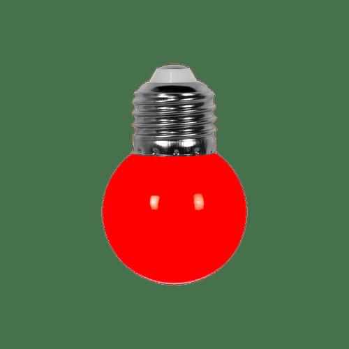 Ampoule Guirlande Guinguette Led E27 Couleur Rouge