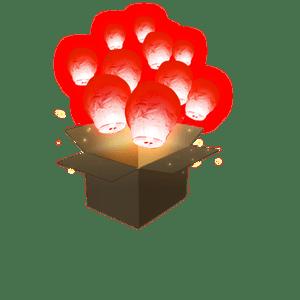 Balloon Rouge x20